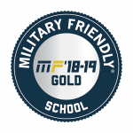 round military friendly logo